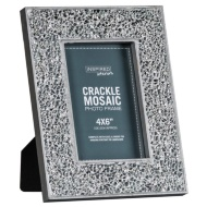Crackle Mosaic Photo Frame 4 x 6