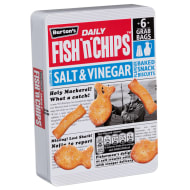 Burton's Fish 'n' Chips Salt & Vinegar Biscuits 6pk 240g
