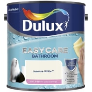 Dulux Easycare Bathroom Soft Sheen Jasmine White 2.5L