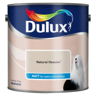 Dulux Matt Emulsion Natural Hessian 2.5L