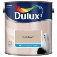 Dulux Matt Emulsion Cookie Dough 2.5L