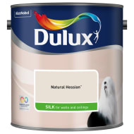 Dulux Silk Emulsion Natural Hessian 2.5L