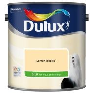 Dulux Silk Emulsion Lemon Tropics 2.5L