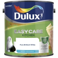 Dulux Easycare Kitchen Paint - Pure Brilliant White 2.5L