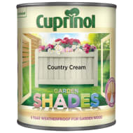 Cuprinol Garden Shades Country Cream 1L