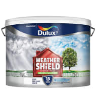Dulux Weathershield Smooth Masonry - Pure Brilliant White 10L