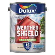 Dulux Weathershield Smooth Masonry Sandstone 5L