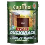 Cuprinol 5 Year Ducksback Autumn Brown 5L