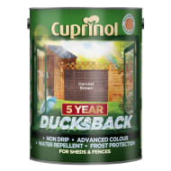 Cuprinol 5 Year Ducksback Harvest Brown 5L