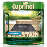 Cuprinol Anti-Slip Decking Stain Black Ash 2.5L