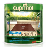 Cuprinol Anti-Slip Decking Stain Cedar Fall 2.5L