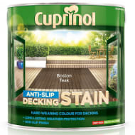 Cuprinol Anti-Slip Decking Stain Boston Teak 2.5L