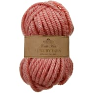 Cable Knit Yarn 150g - Coral