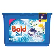 Bold 2 in 1 Detergent Pearls - White Lily & Lotus Flower 12pk