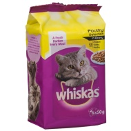 Whiskas Pouch Poultry Selection in Gravy 6 x 50g