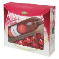 Three Mills Rose Wine & Chocolates Gift Set