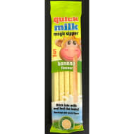 Quick Milk Magic Sipper 5pk - Banana