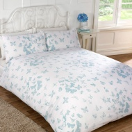Vintage Butterfly Duvet Set Double