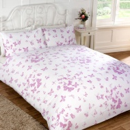 Vintage Butterfly Duvet Set King Size