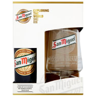 San Miguel & Chalice Gift Set 330ml