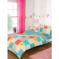 Kids Complete Single Bed Set - Patchwork