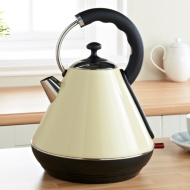 Prolex Pyramid Kettle 1.8L - Cream