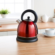 Prolex Traditional Kettle - Red