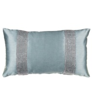 Donna Diamante Boudoir Cushion - Duck Egg