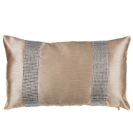 Donna Diamante Boudoir Cushion - Gold