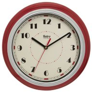 Retro Diner Wall Clock 30cm