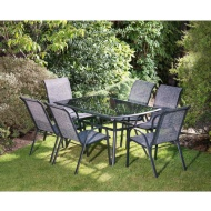 Seville Patio Set 7pc
