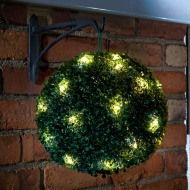 Solar Powered Topiary Ball 28cm
