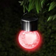 Crackle Ball Hanging Lights 3pk