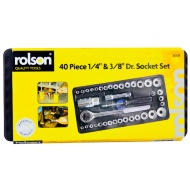 Rolson Dr. Socket Set 40pc