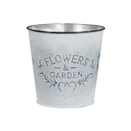 Flowers & Garden Bucket Plant Pot