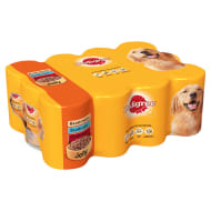 Pedigree Chunks Dog Food in Jelly Meat Selection 12pk