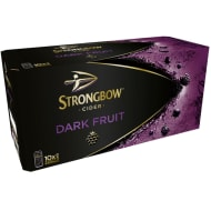 Strongbow Cider Dark Fruit 10 x 440ml