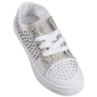 Girls Bling Canvas Shoes