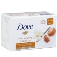 Dove Shea Butter Soap Bars 4pk