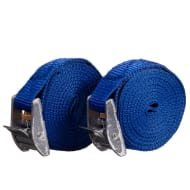 Auto Tech Buckle Tie Downs 2.5m 2pk