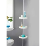 Three Shelf Tension Pole Caddy