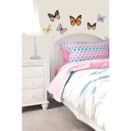 3D Butterfly Wall Sticker - Gold