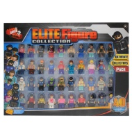 Elite Block Figure Collection 40pk