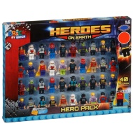 Brick by Brick Heroes on Earth Figures 40pk