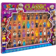 Brick by Brick Classic Figure Collection 40pk