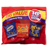 Cadbury Variety Biscuit Bag 16pk