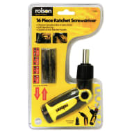 Rolson Ratchet Screwdriver 16pc