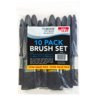 Turner & Gray Paint Brush Set 10pk