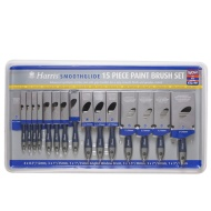 Harris Smoothglide Paint Brush Set 15pc