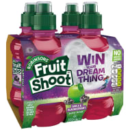 Robinsons Fruit Shoot Blackcurrant & Apple 4 x 200ml